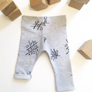 Legging bébé morpion gris