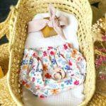 Bloomer fleuris blanc bébé fille clermont fd 2