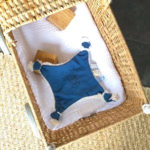 doudou cerf bébé fait main clermont fd 2