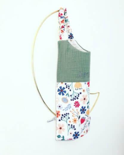 serviette de cantine fleurs bébé et enfant Clermont-fd