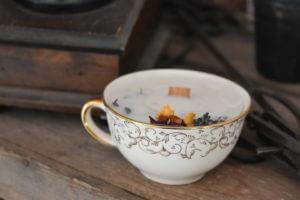 bougie de protection tasse blanche clermont fd