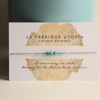 bracelet fait main marque auvergnate