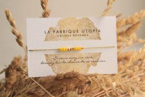 bracelet femme made in auvergne