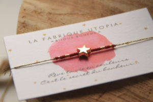 bracelet brésilien enfant etoile rouge clermont fd 4