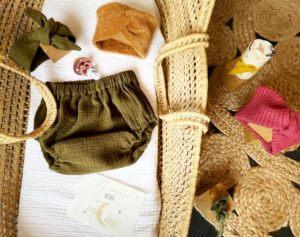 bandeau turban moutarde bébé clermont fd 2
