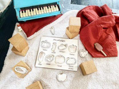 puzzle bois bébé clermont fd made in france